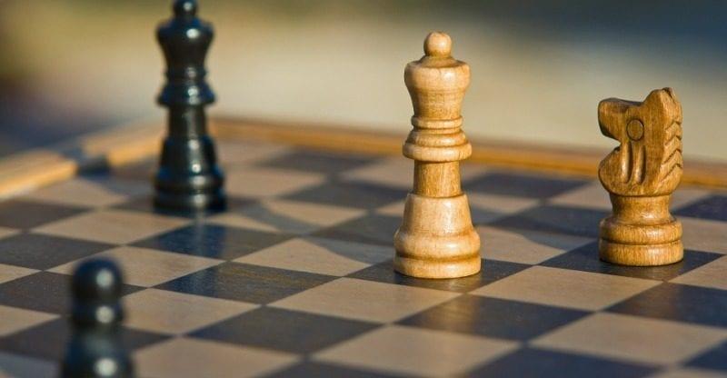 tablero ajedrez estrategia
