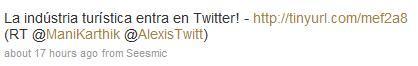 twittereturismo