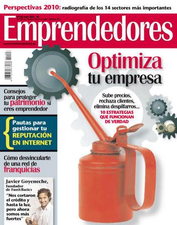 Revista Emprendedores enero 2010