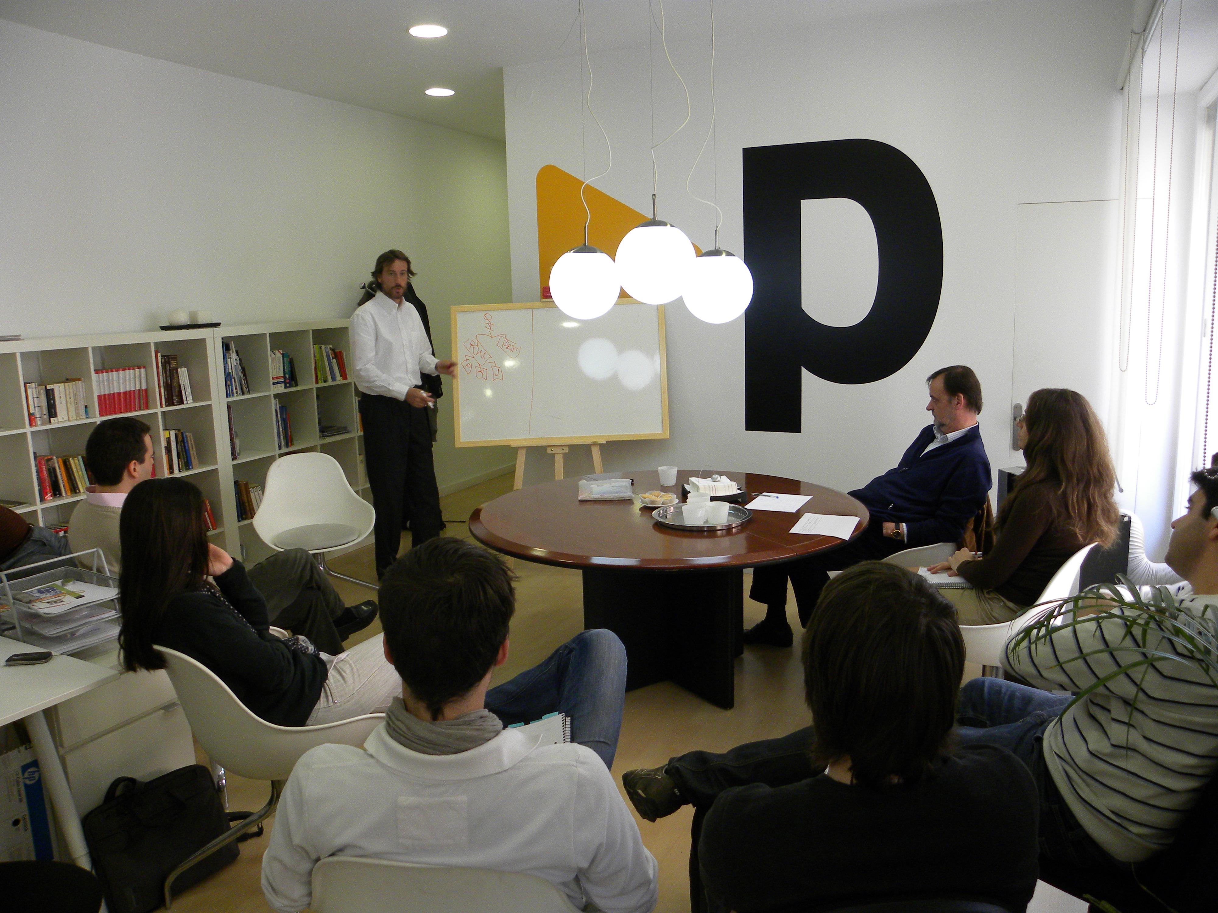Víctor Kuppers sesión en Prestigia Online