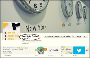 Fan Page de Prestigia Online