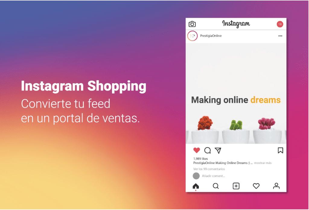 Instagram Shopping Gestión