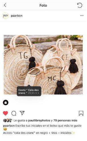 Publicacion Instagram Productos