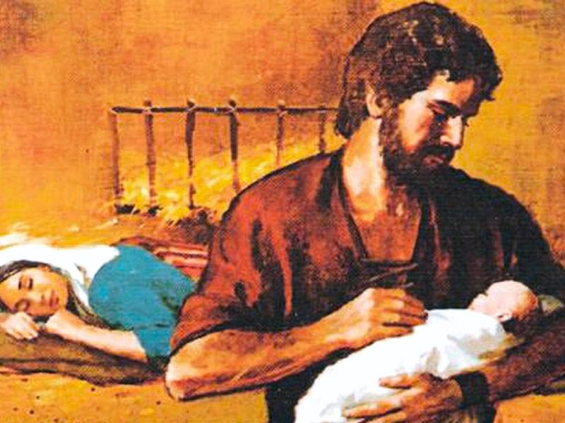 Feliz Navidad el nacimiento